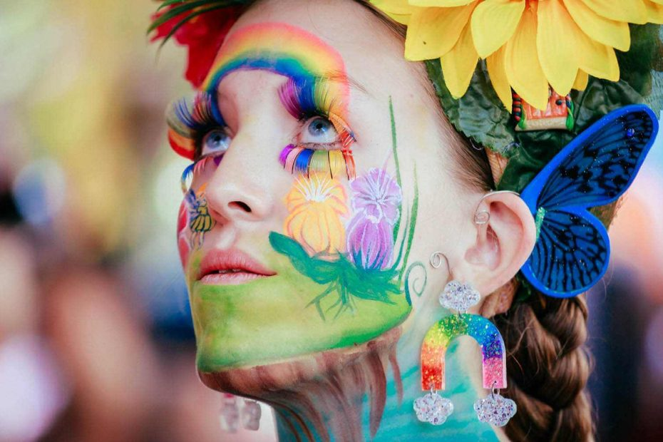 Fashion Event Photographer, Body Art, Cooroy, Sunshine Coast