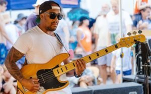 HCee Family, Bassist - Henry Glover Music Photographer © 2020