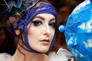 Blue Body Art - Henry Glover Photography, Sunshine Coast Photographer © 2020