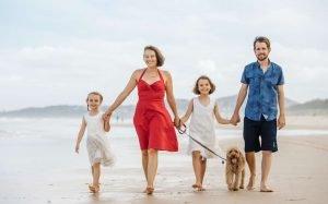 Sunshine Coast, Professional Beach Family Portrait Photography